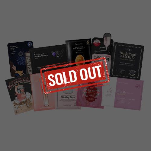 Mask Sheet Trial Kit (Black&Pink)