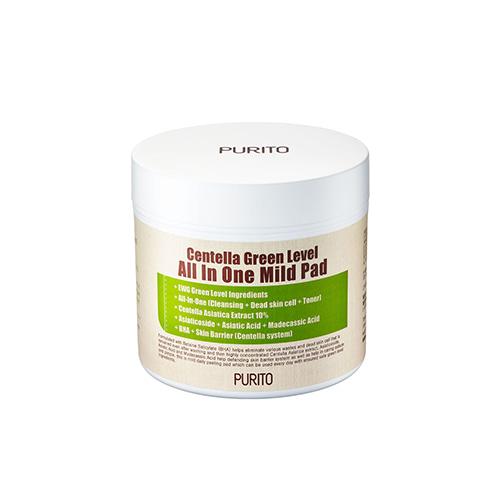 PURITO Centella Green Level All In One Mild Pad 70pcs