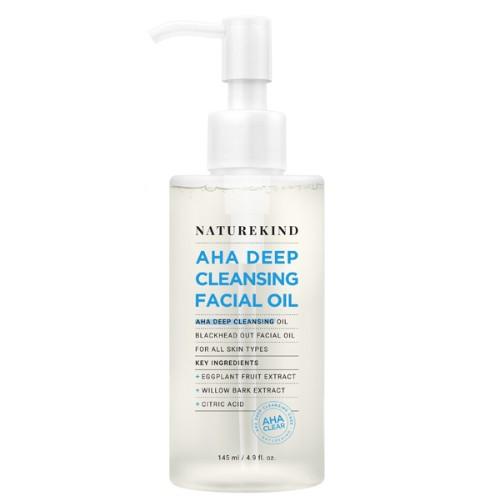 NATUREKIND AHA Deep Cleansing Facial Oil 145ml