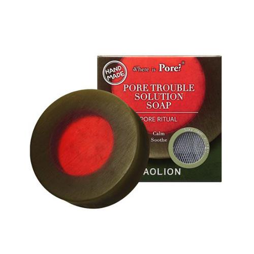 CAOLION Pore Trouble Solution Soap 100g