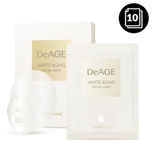 CHARMZONE DeAGE White Aging Facial Mask 10ea