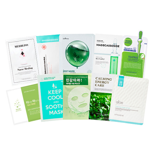 Mask Sheet Trial Kit (Acne)