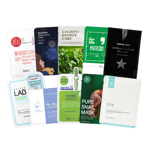 Mask Sheet Trial Kit (Blemish)