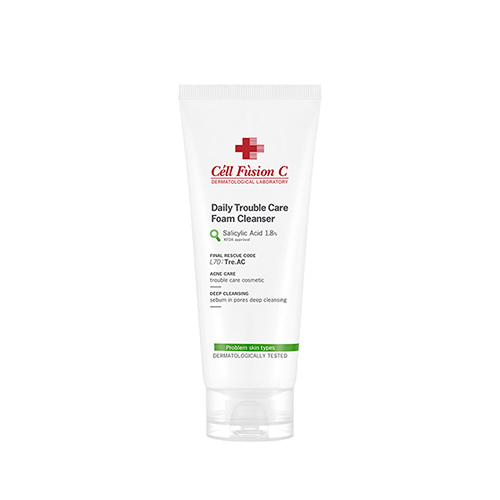 Cell Fusion C Tre.AC Daily Trouble Care Foam Cleanser 130ml