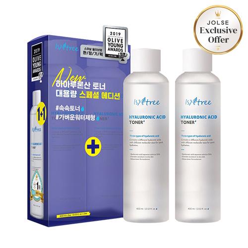 Isntree Hyaluronic Acid Toner 400ml + 400ml