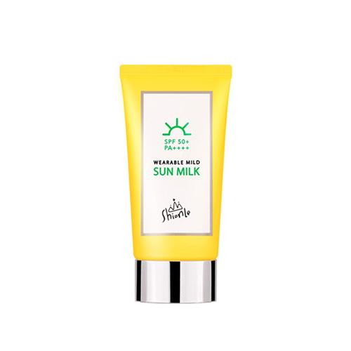 ShionLe Wearable Mild Sun Milk SPF50+ PA++++ 50ml