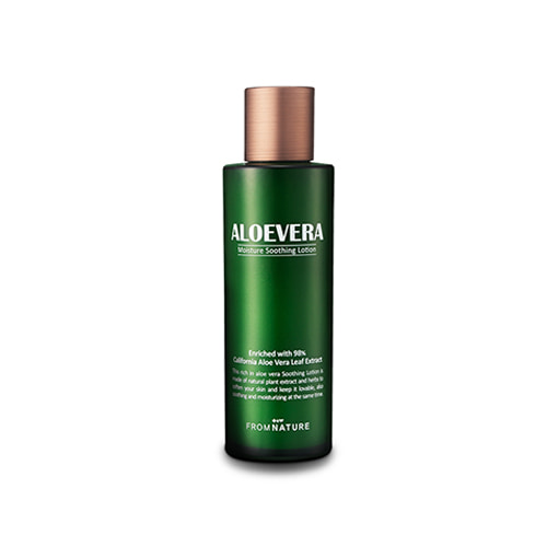 FROM NATURE Aloevera 98% Moisture Soothing Lotion 125ml