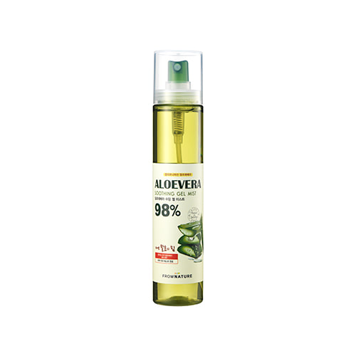 FROM NATURE Aloevera 98% Soothing Gel Mist 120ml