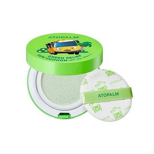 ATOPALM Green Relief Sun Cushion SPF50+ PA++++ 13g