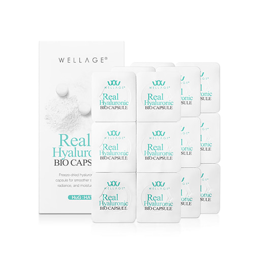 WELLAGE Real Hyaluronic Bio Capsule 18ea