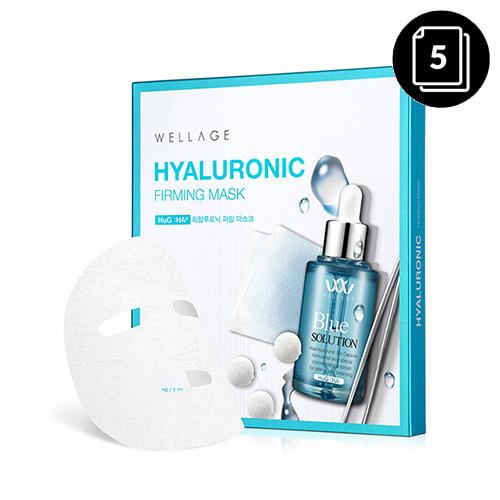 WELLAGE Hyaluronic Firming Mask 30ml * 5ea