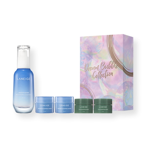 LANEIGE Water Bank Moisture Essence Set Holiday Limited Edition