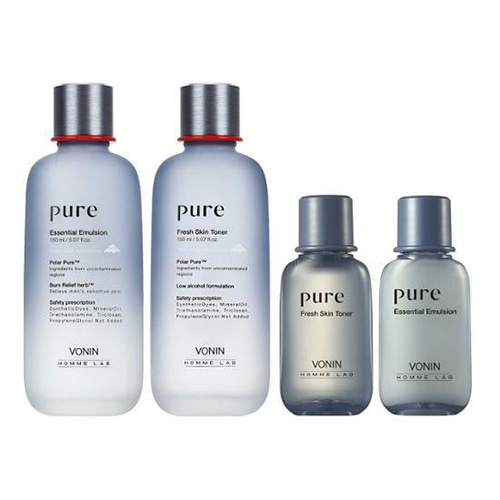 VONIN Pure Skintoner & Emulsion Set