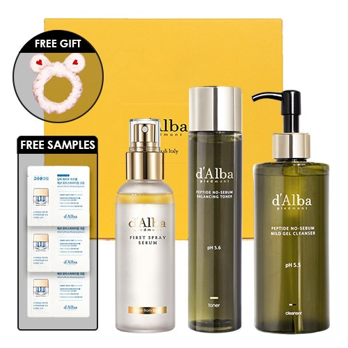 d'Alba At Home Spa Treatment Set