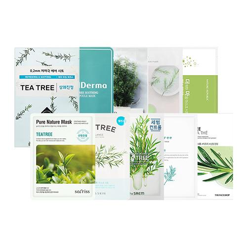 Mask Sheet Trial Kit (Tea Tree)