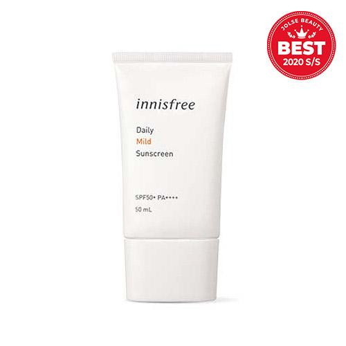 innisfree Daily Mild Sunscreen SPF50+ PA++++ 50ml