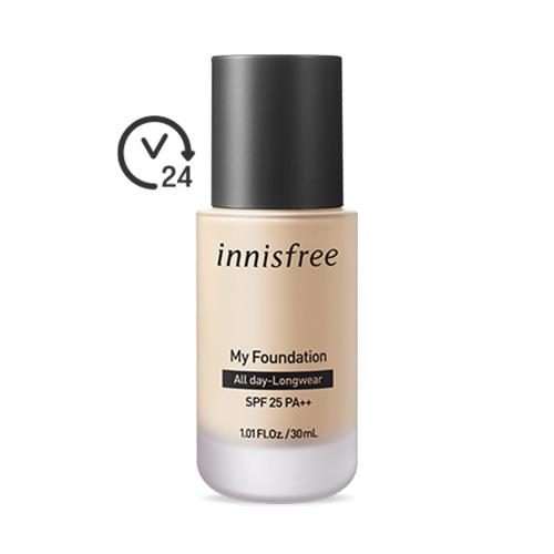 innisfree My Foundation All Day-Longwear SPF25 PA++ 30ml