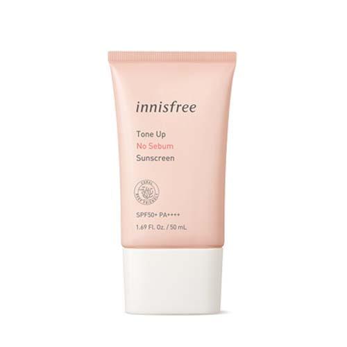 innisfree Tone Up No Sebum Sunscreen SPF50+ PA++++ 50ml