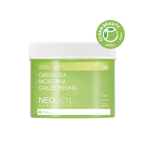 NEOGEN DERMALOGY Green Tea Moist Pha Gauze Peeling 30ea