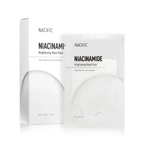 NACIFIC Niacinamide Brightening Mask Pack 10ea