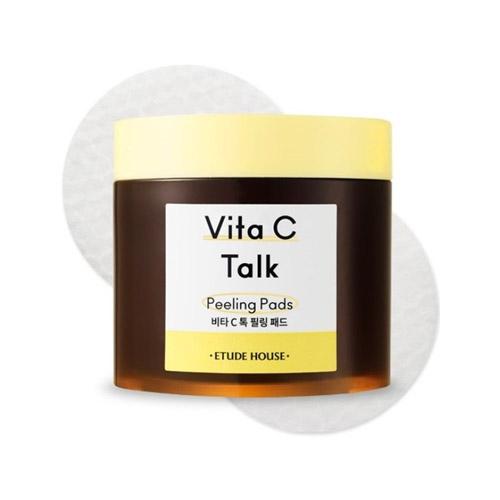 ETUDE HOUSE Vita C Talk Peeling Pads 60ea