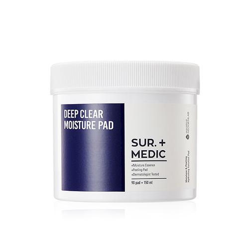 SUR.MEDIC+ Deep Clear Moisture Pad 90ea
