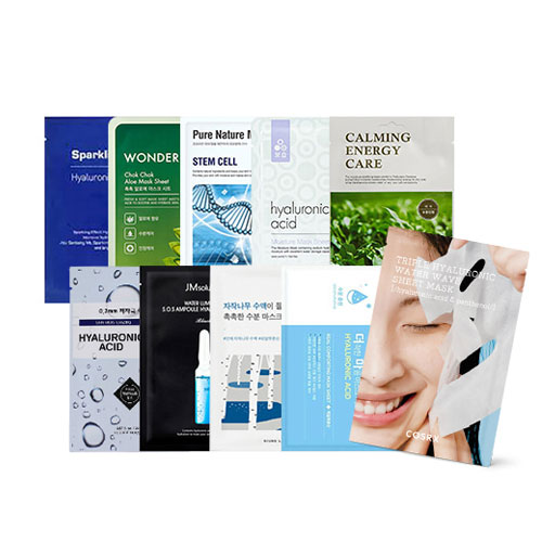 Mask Sheet Trial Kit (Moist)