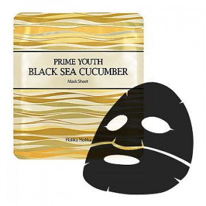 HOLIKA HOLIKA Prime Youth Black Sea Cucumber Mask Sheet 25g