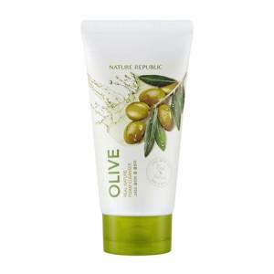 NATURE REPUBLIC Real Nature Olive Foam Cleanser 150ml