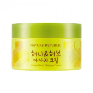 NATURE REPUBLIC Honey & Herb Massage Cream 215ml