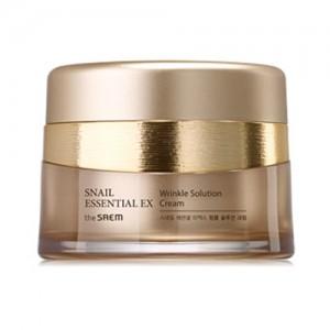 the SAEM Snail Essential EX Wrinkle Solution Cream 60ml
