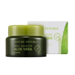 NATURE REPUBLIC Real Squeeze Aloe Vera Cream 50ml