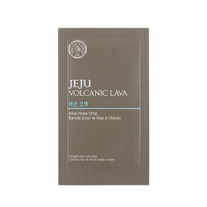 THE FACE SHOP JEJU VOLCANIC LAVA Aloe Nose Strip 1ea