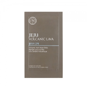 THE FACE SHOP JEJU VOLCANIC LAVA Volcanic Ash Nose Strip 1ea