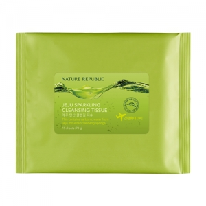 NATURE REPUBLIC Jeju carbonate cleansing tissues 15 sheets