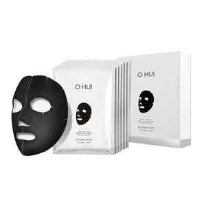 O HUI Extreme White 3d Black Mask 27g*6ea