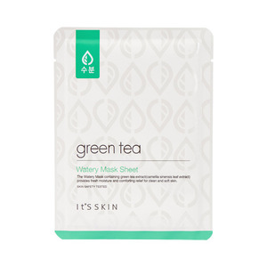 It's skin Green Tea Watery Mask Sheet 17g * 3ea