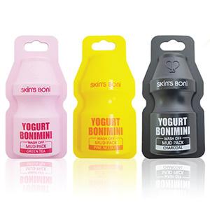 Skin'S Boni Yogurt Bonimini Wash Off Mud Pack 15g * 12ea