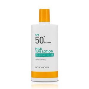 HOLIKA HOLIKA Mild Sun Lotion SPF50+ PA++++ 50ml