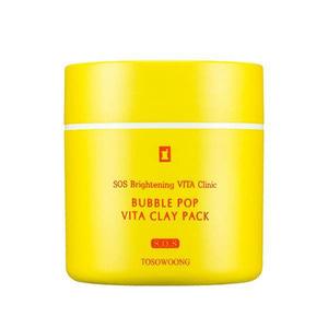 TOSOWOONG SOS Brightening VITA Clinic Bubble Pop Vita Clay Pack 50g