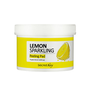secretKey Lemon Sparkling Peeling Pad 70 ea
