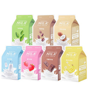 A'PIEU Milk One Pack * 3 sheets