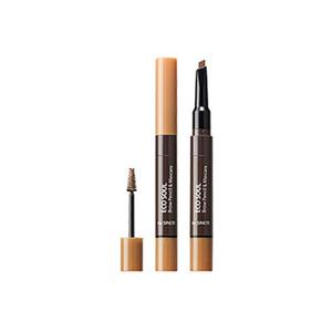 the SAEM Eco Soul Brow Pencil & Mascara