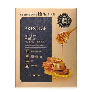TONYMOLY Prestige Jeju Snail Mask SET 10ea