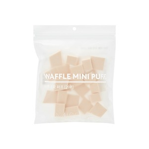 MISSHA Waffle Mini Puff 20P