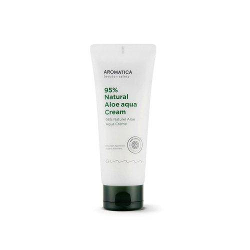 Aromatica 95% Natural Aloe Aqua Cream 150g