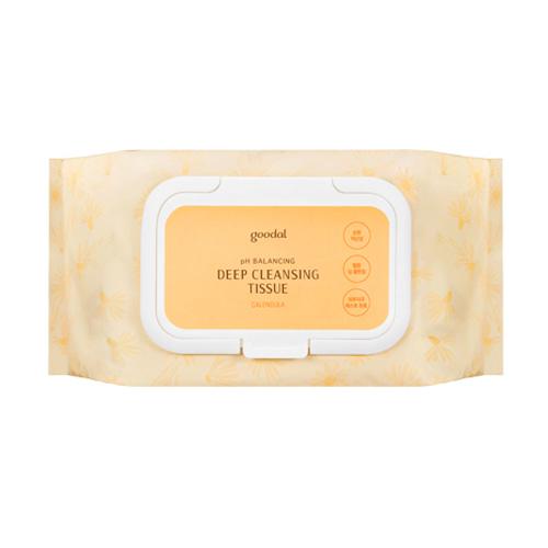goodal Calendula pH Balancing Deep Cleansing Tissue 80 Sheets
