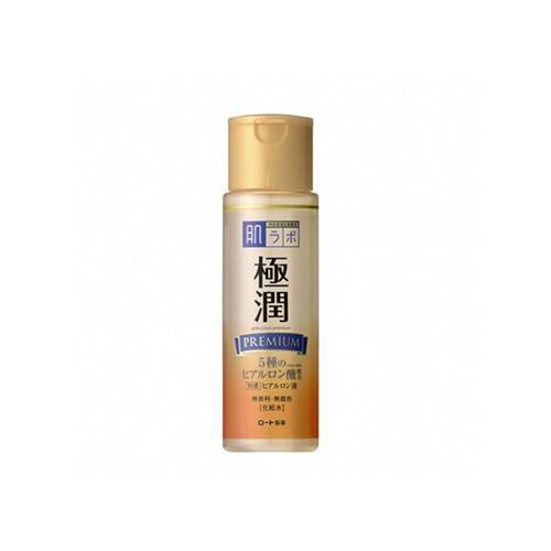 HADALABO GOKUJUN Premium Hyaluronic Milky Lotion 140ml
