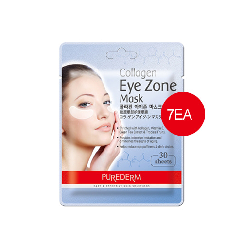 PUREDERM Collagen Eye Zone Mask 30sheets*7ea
