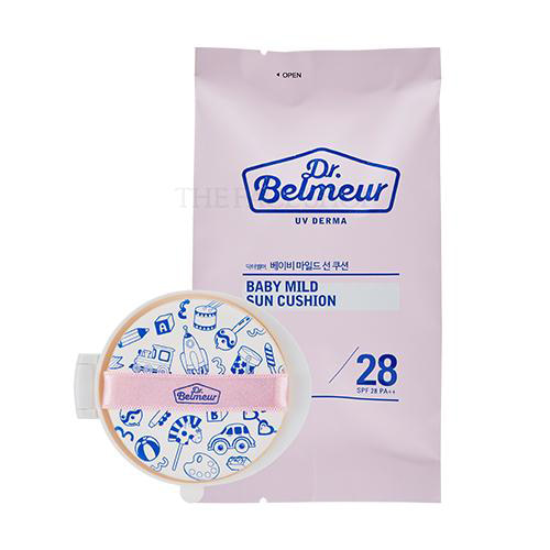 THE FACE SHOP Dr.Belmeur UV Derma Baby Mild Sun Cushion Refill SPF28 PA++ 15g